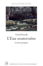 L'eau souterraine : Lectures poétiques