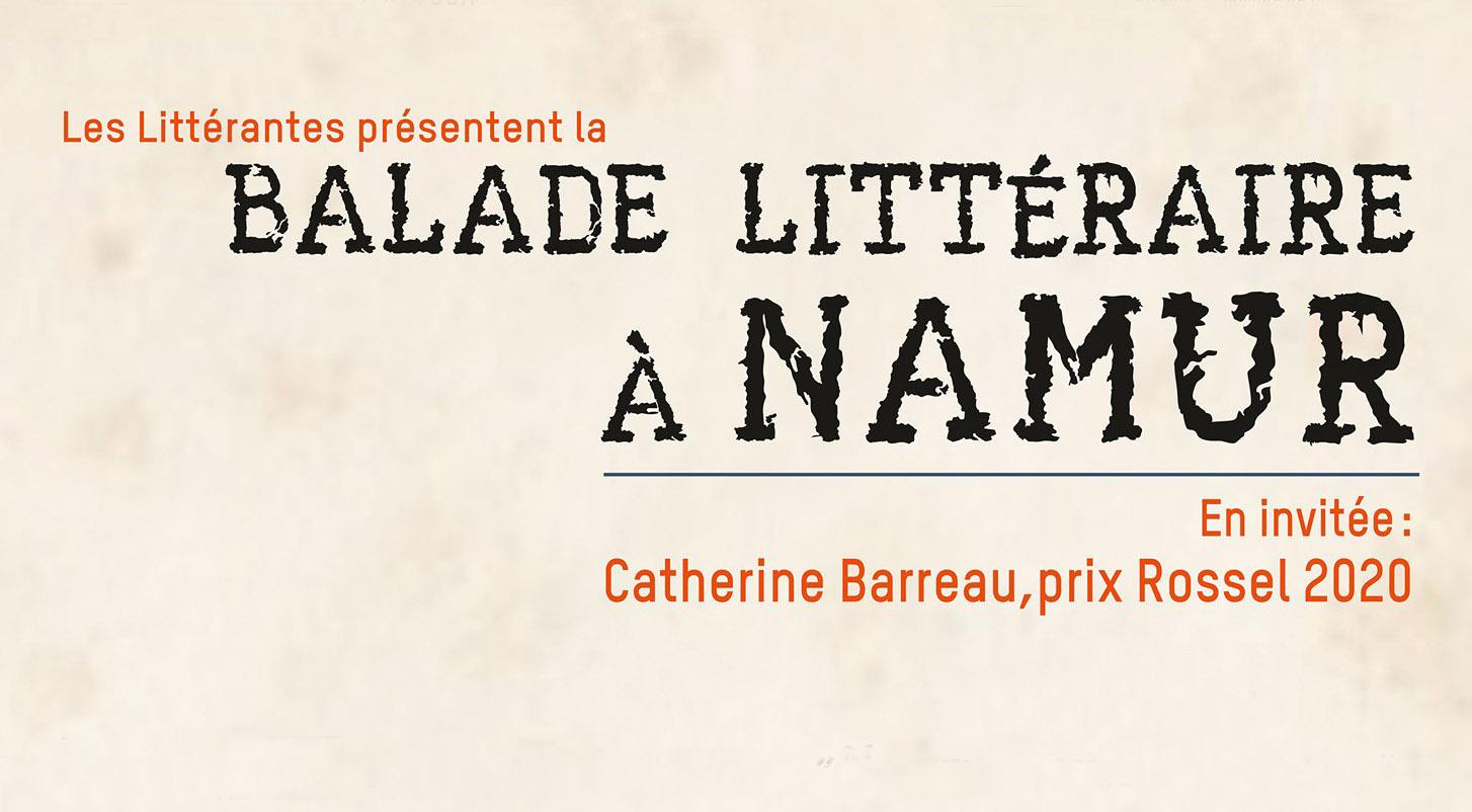 Ballade littéraire à Namur