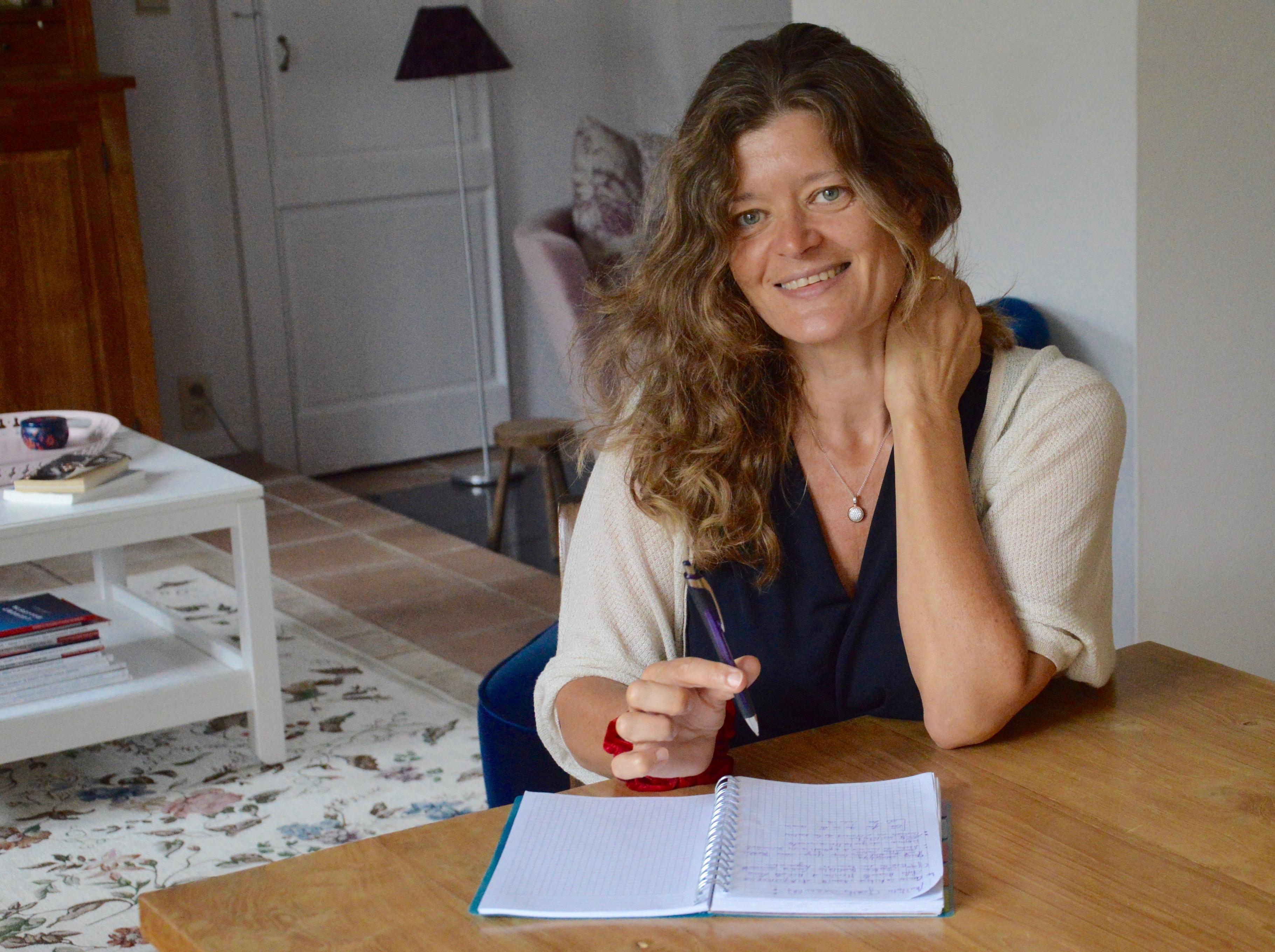 Séance de dédicaces de Nathalie Boutiau à la Librairie Antigone