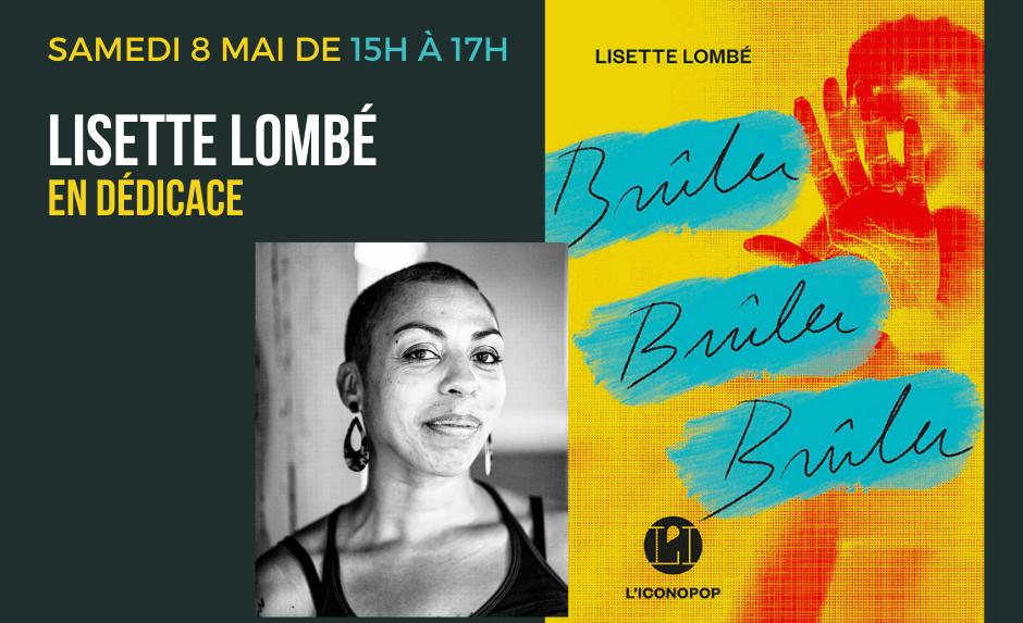 Lisette Lombé en dédicaces chez Livre aux Trésors