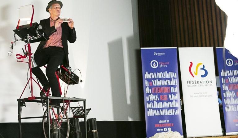 « Les 30 ans du monocycliste », une performance de Benoît Jacques
