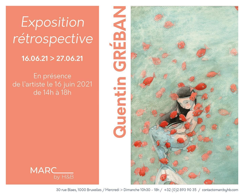 Exposition rétrospective Quentin Gréban