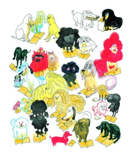 Exposition : « En fluo » par Kitty Crowther