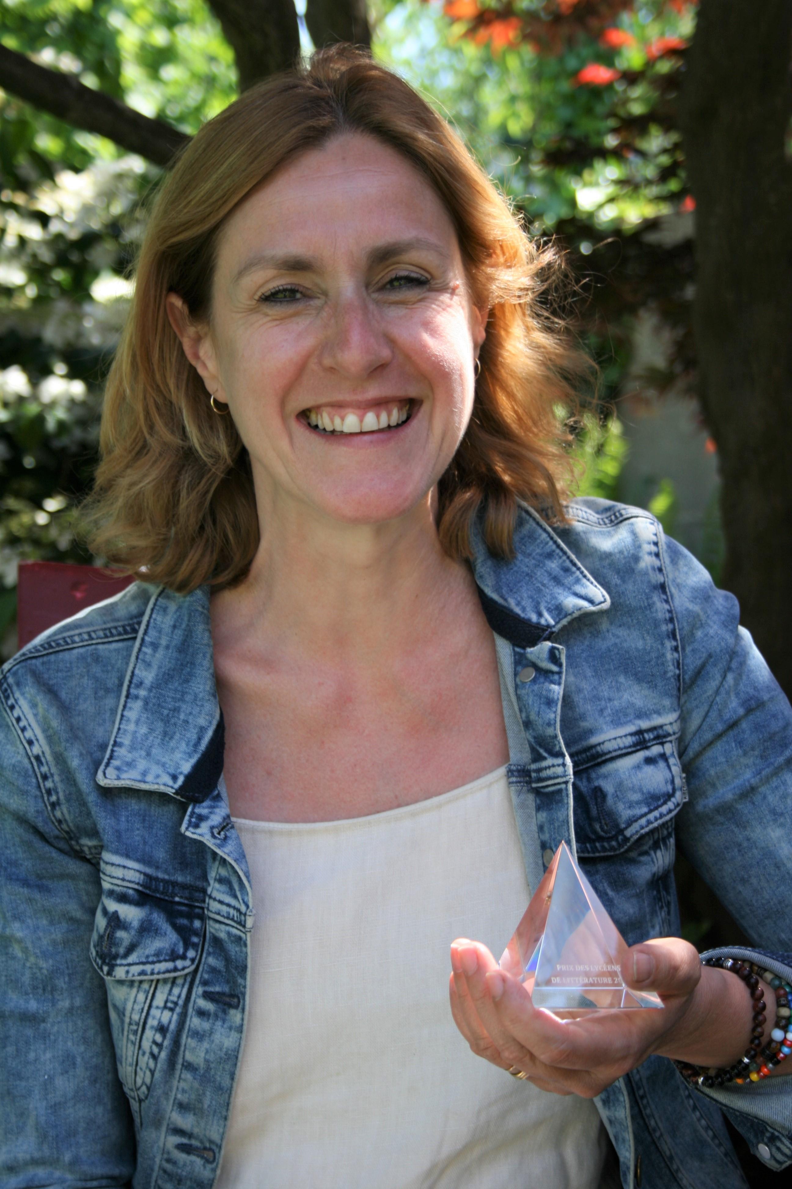 L'autrice Geneviève Damas reçoit le Prix des lycéens 2021