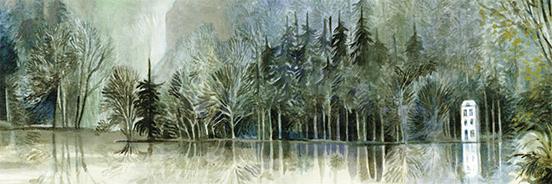 Exposition : « Voyage d'hiver » d'Anne Brouillard