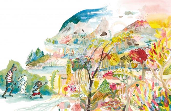 Atelier d'illustration avec Mélanie Rutten