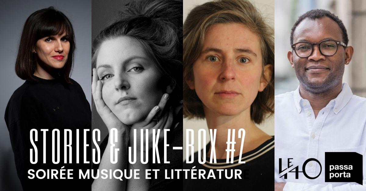 Stories & Juke-box #2 : Soirée musique et littératur