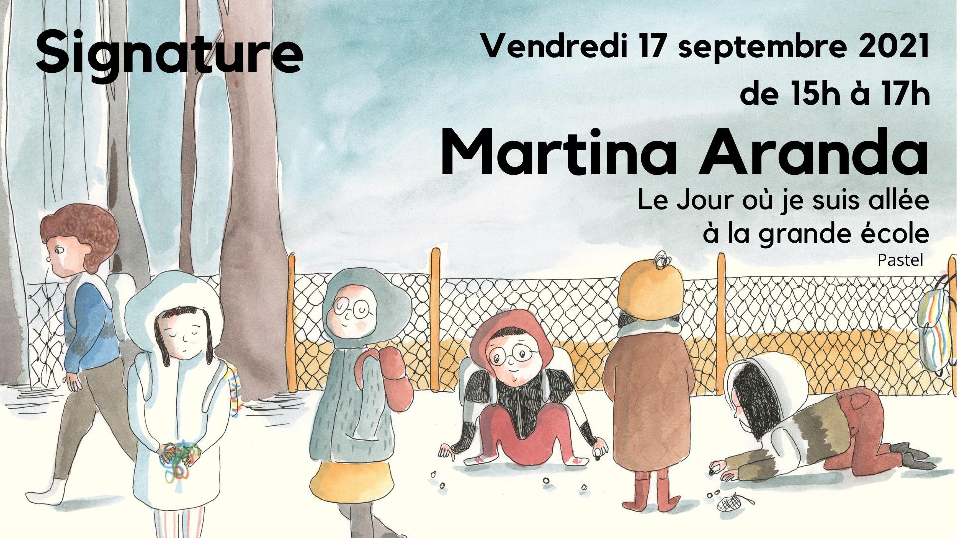 Signature de Martina Aranda