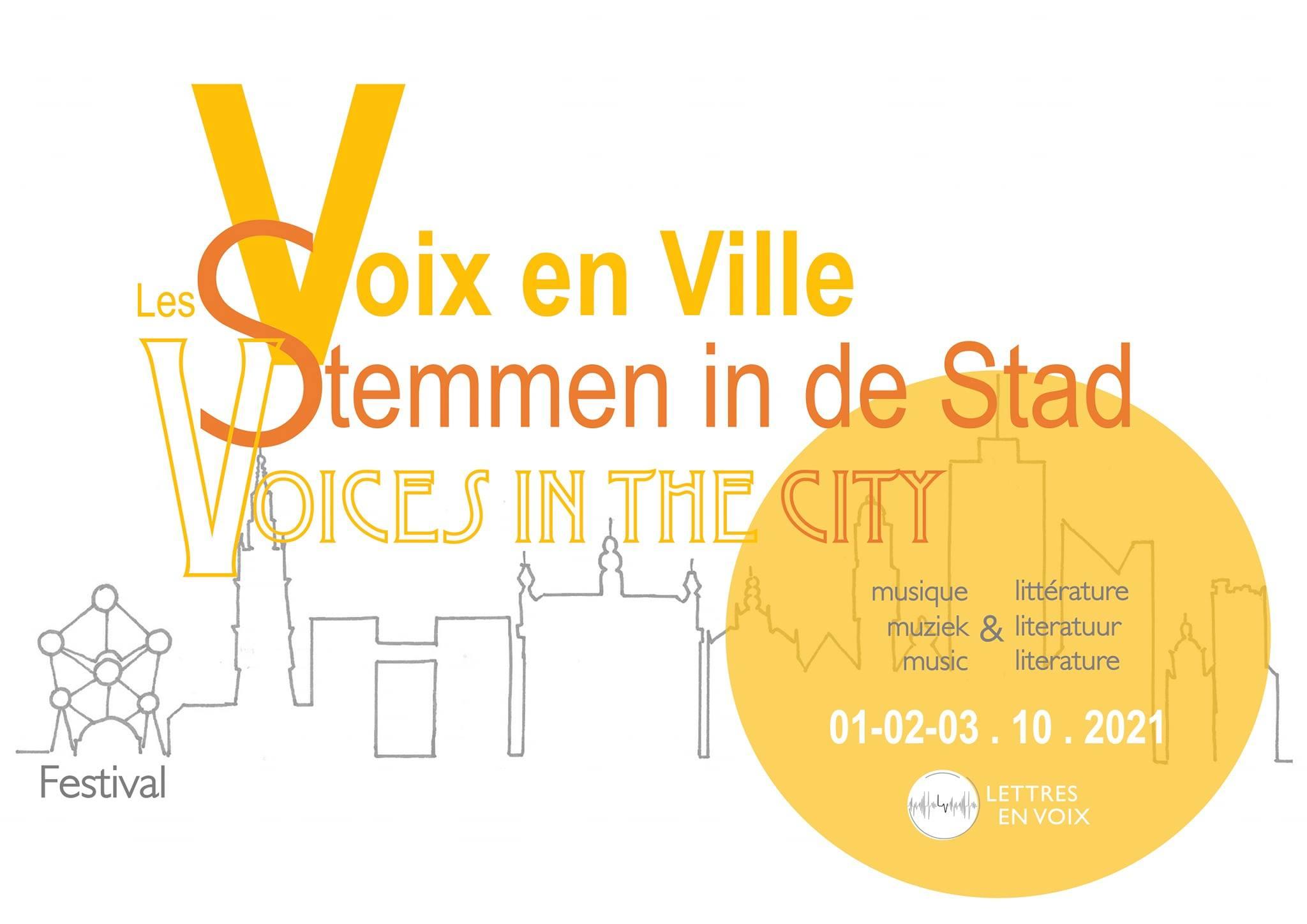 Festival Voix de villes 2021