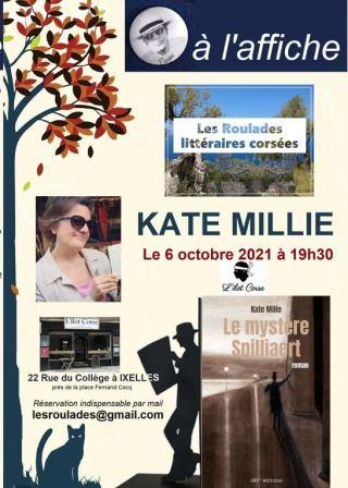 Dîner littéraire avec Kate Milie