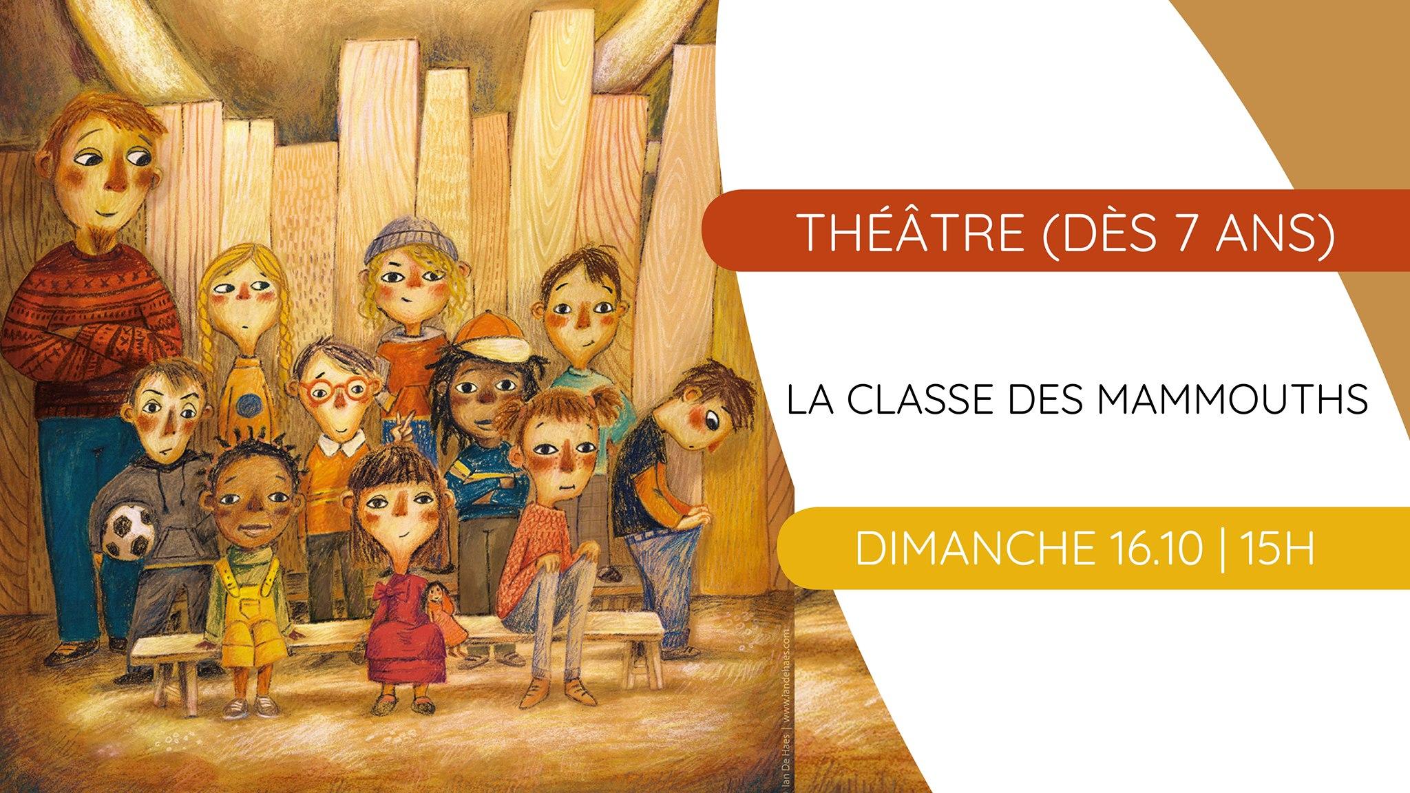 Théâtre : La classe des mammouths