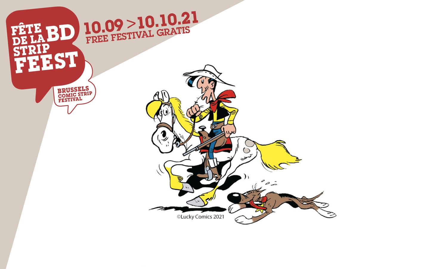 Exposition : Lucky Luke